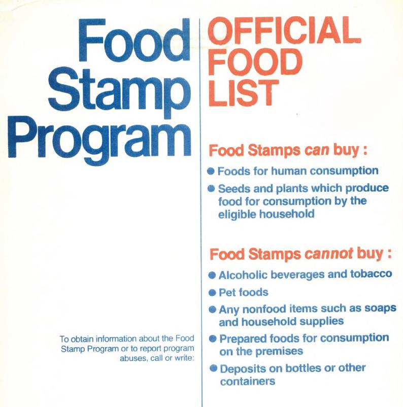 18 May 2012 1015 41K Food Stamp Program O 49K 26K